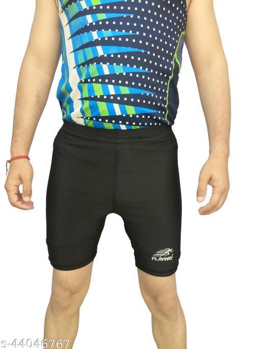 playway men's sports waer skin fit tights for running,gym,cyclin,yoga