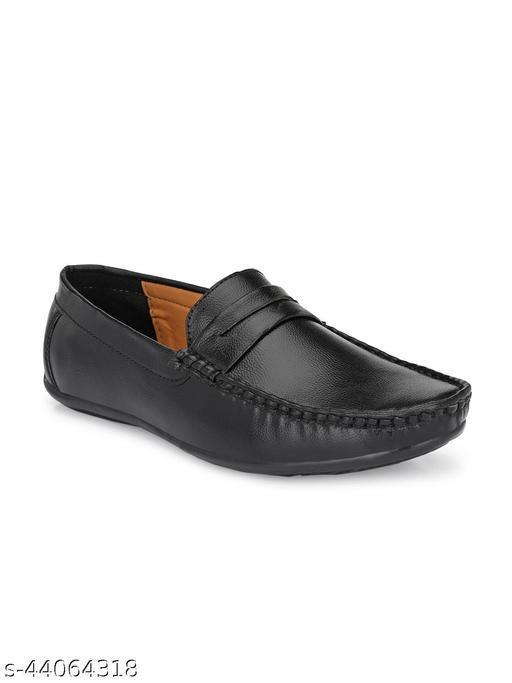 Men's Casual loafer Shoe - Black