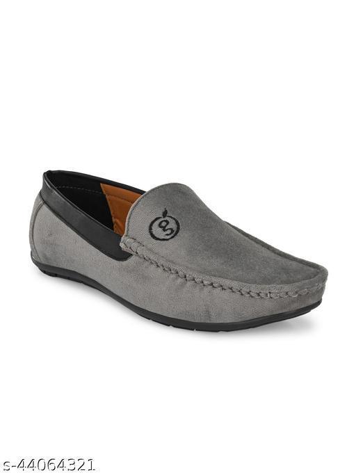 Men's Casual loafer Shoe - Grey