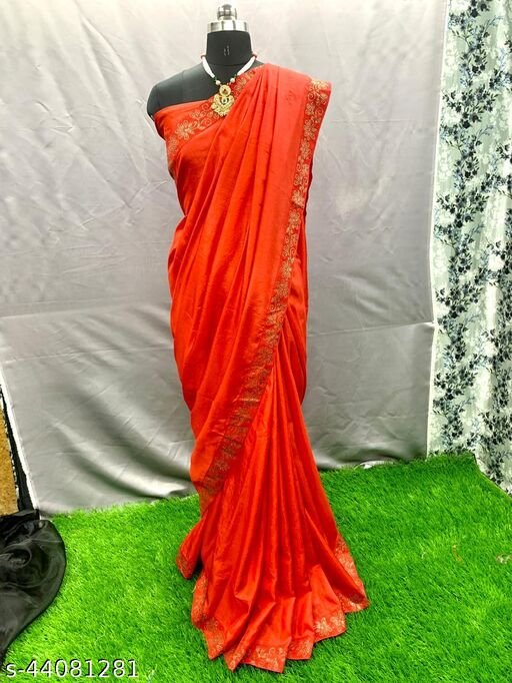woamn's fancy saree