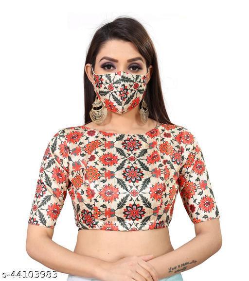 Women Degital Printed Readymade Blouse