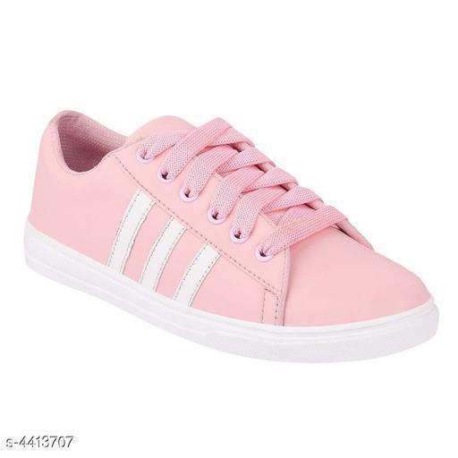 Stylish Women's Pink Sneakers
