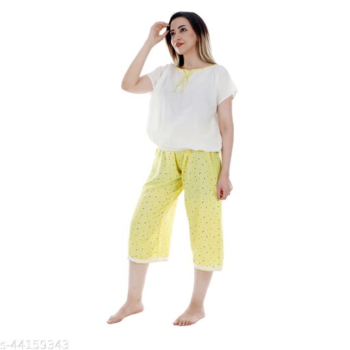 Divine Fashionable Women Nightsuit