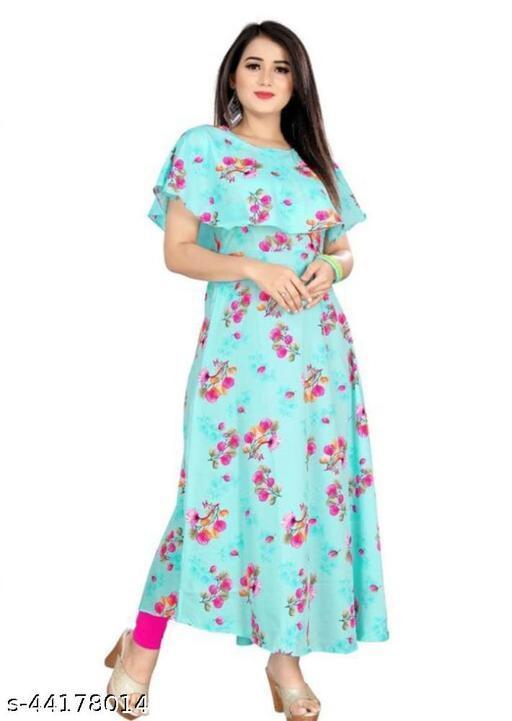 Trendy Feminine Women Gown