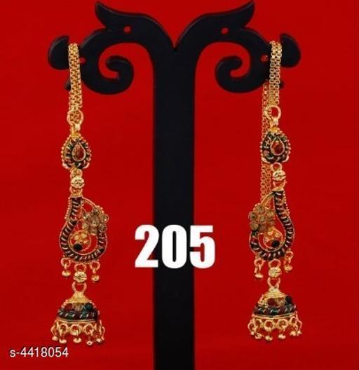 Earrings & Studs Trendy Women's Earrings  Trendy Women's Earrings  *Sizes Available* Free Size *    Catalog Name: Trendy Women's Earrings CatalogID_635868 C77-SC1091 Code: 171-4418054-
