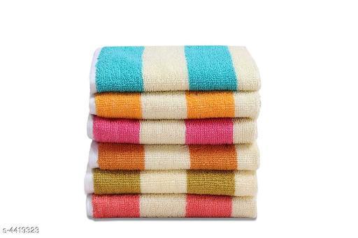 Trendy Cotton Hand Towels Combo