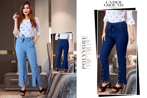 Trendy Elegant Women Jeans