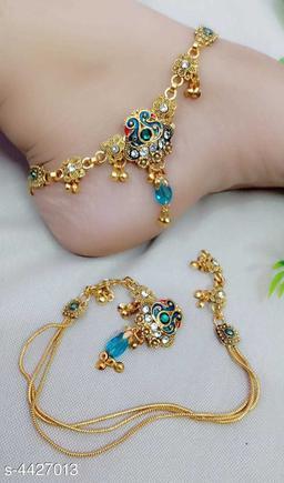 Modern Fancy Women's Anklets