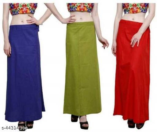 KAVYA DESIGNERS Women Petticoats Pack of 3