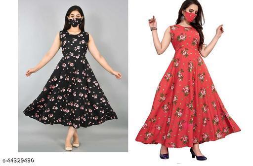 Trendy Fabulous Women Gown