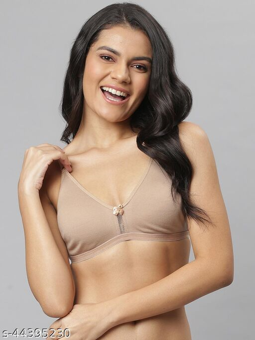 Slayxo Padded Non wired T-shirt Bra in Nude color