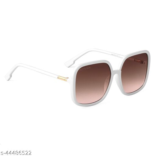 ROYAL SON Over Sized UV Protected Women Sunglasses - Brown CHI0096-C8