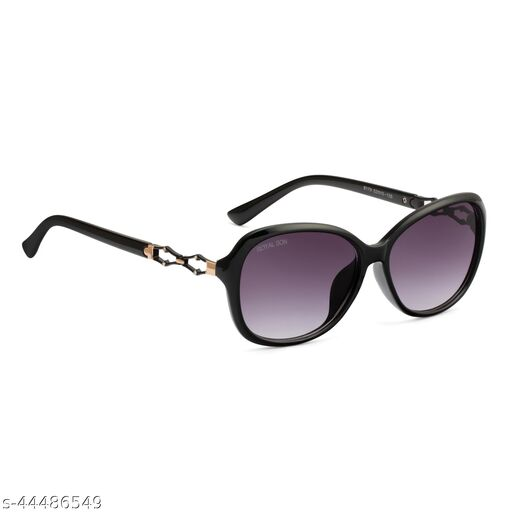 Royal Son Butterfly UV Protection Women Sunglasses Black Lens - CHIWM00117-C1