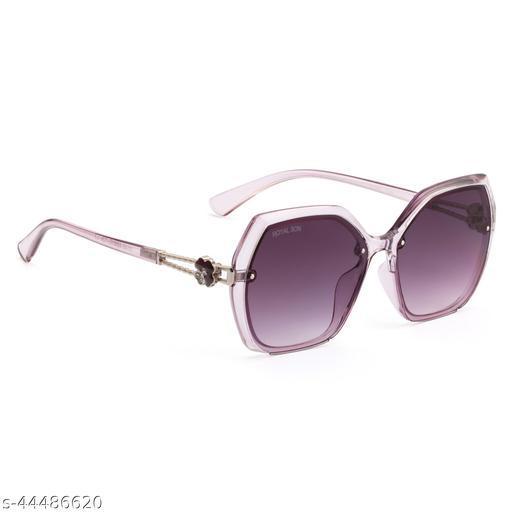 Royal Son Butterfly UV Protection Women Sunglasses Black Lens - CHIWM00115-C3
