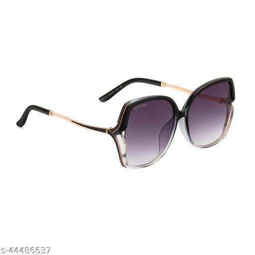 Royal Son Over-sized UV Protection Women Sunglasses Black Lens - CHIWM00113-C2