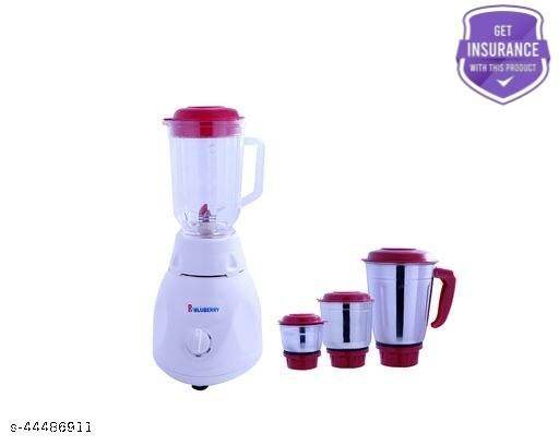 B BluBerry Advanve mixer grinder with four stainless steel jar