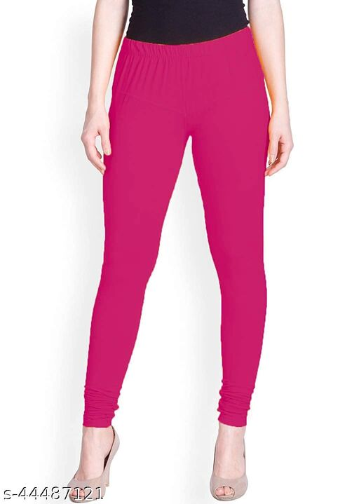 Aruj Ultra Soft Cotton Churidar Solid Regular Legging For Ladies & Girls