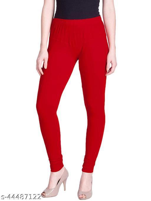 Aruj Ultra Soft Cotton Churidar Solid Regular Legging For Ladies & Girl