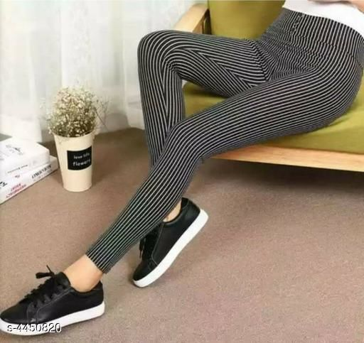 Tights Attractive Women's Tights  *Fabric* Imported Fabric With Inside Fur  *Size (Waist)* M - 30 in, L - 32 in , XL - 34 in  *Length* Up To 40 in  *Type* Stitched  *Description* It Has 1 Piece Of Tights  *Pattern* Striped  *Sizes Available* M, L, XL, XXL *   Catalog Rating: ★3.3 (7)  Catalog Name: Classy Attractive Women's Tights Vol 12 CatalogID_641596 C79-SC1036 Code: 462-4450820-