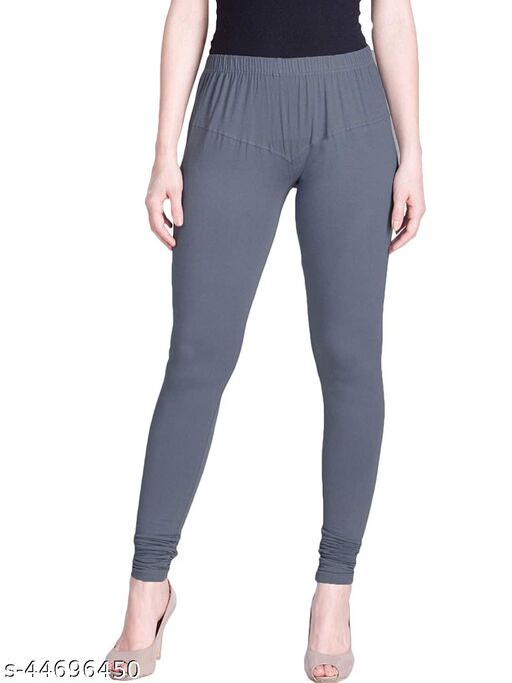 Anubha Ultra Soft Cotton Churidar Solid Regular Legging For Ladies & Girls