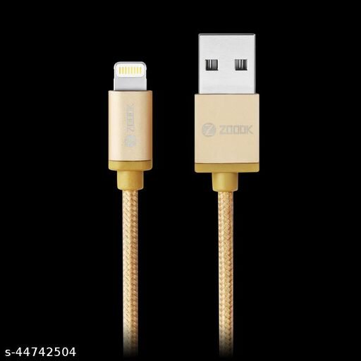 Zoook ZT-BIC1M Braided Lightning Cable Gold