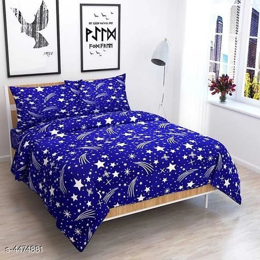 New Modal Attracrive Stylish Poly Double Bedsheets