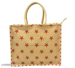 Trendy Stylish Jute Women's Handbag