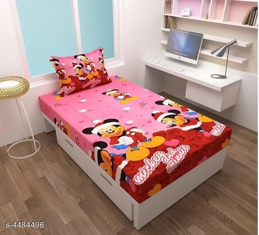 Elite Attractive Polycotton Single Bedsheet