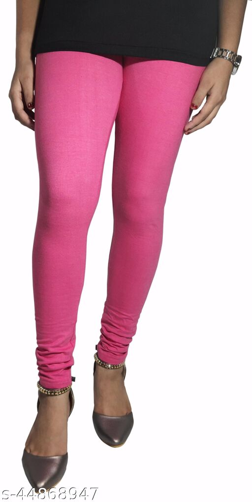 Churidar Cotton Leggings Pack of 2 (Pink)