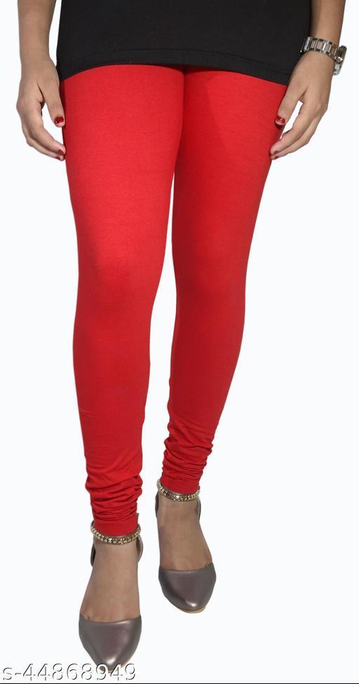 Churidar Cotton Leggings Pack of 2 (Red)