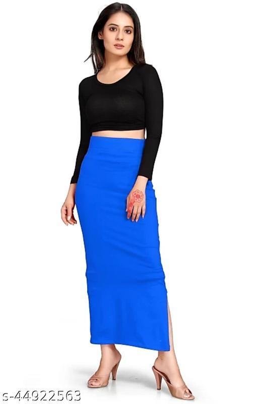 STYLISH WOMEN SHAPEWEAR, PETTICOATS,WESTERN( BLUE)