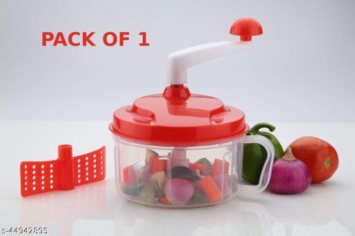 TLISMI Chop N Churn 2 in 1 Kitchen Food Processor Vegetable Fruits Cutter Food Dicer Mixer Blender PACK OF 1