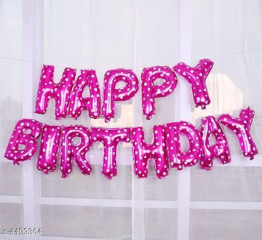 Designer Birthday Balloons