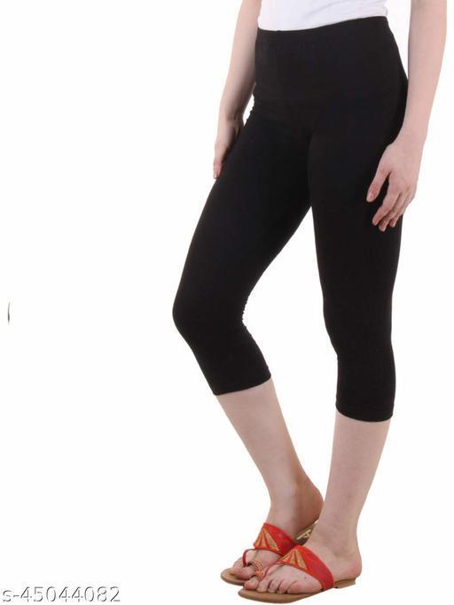 Zunaira Capris for womens/Girls 3/4 leggings for women capri of women combo of 1