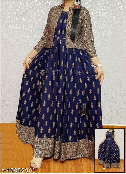 Kashvi Sensational Beautiful Long Anarkali Gown