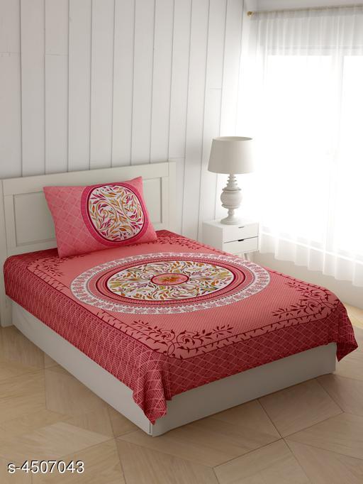 Myra Stylish Printed Single Bedsheets