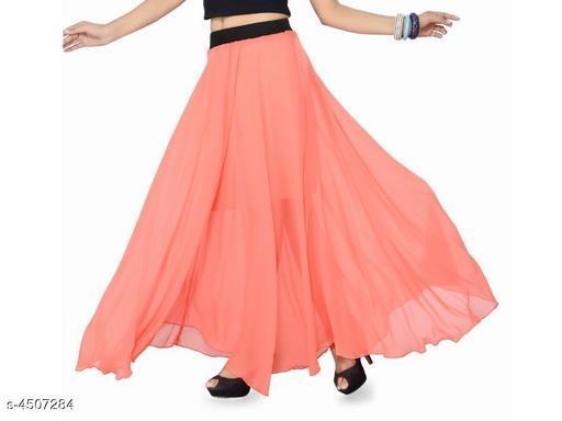 Stylish Georgette Skirt