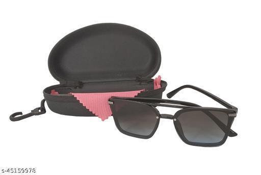 Stylewell Unisex Square Full Rim Sunglass Inspired from Guru Randhawa and Sahil Khan Stylish Look Uv Rays Protected Sunglasses