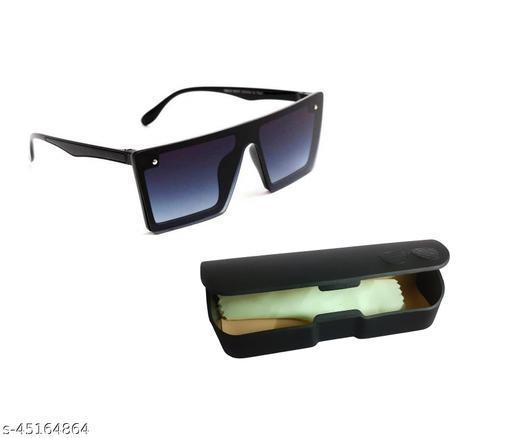 Utkarsh Unisex Square Full Rim Sunglass Inspired from Guru Randhawa and Sahil Khan Stylish Look Uv Rays Protected Sunglasses
