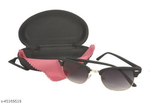 Uniqon Unisex Plastic Round Glass Full Rim Multicolor Stylish Look Uv Rays Protected Sunglasses