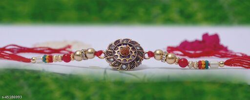 Shimmering Elegant Rakhi