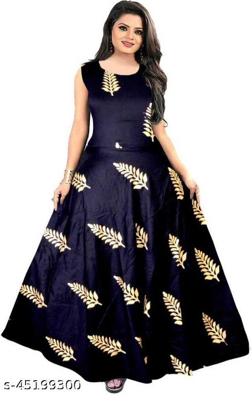 Trendy Glamorous Women Gown