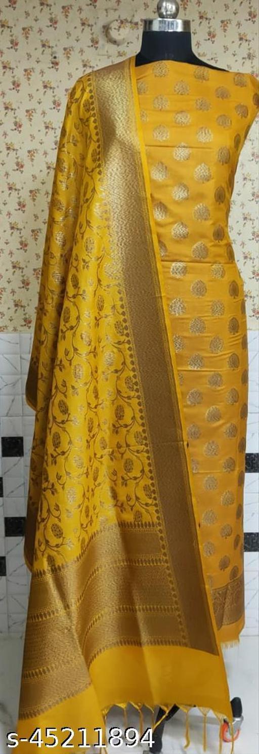 Fabulous Banarsi Pure Silk Suit And Dress Material