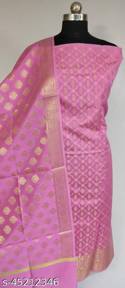 Fabulous Banarsi Silk Suit And Dress Material