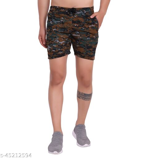 GLAUCUS Military/Army Style Camouflage Shorts For Men