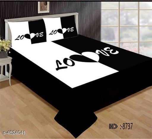 Trendy Velvet Double Bedshheet