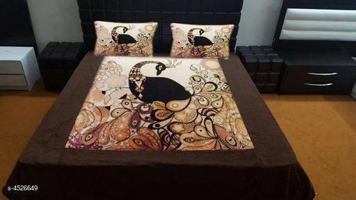 Classy Double Velvet Bedsheet