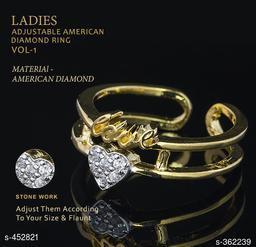 Beautiful American Diamond Ring