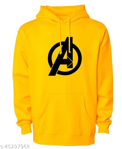 Fashion By Divra Unisex Regular Fit Avengers Printed Cotton Hoodie