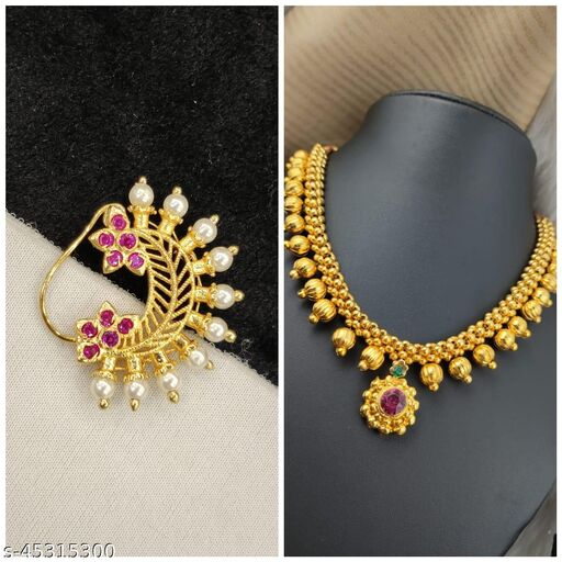 Thushi And Necklace